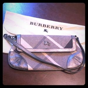 Authentic Burberry Small Handbag- Sparkling